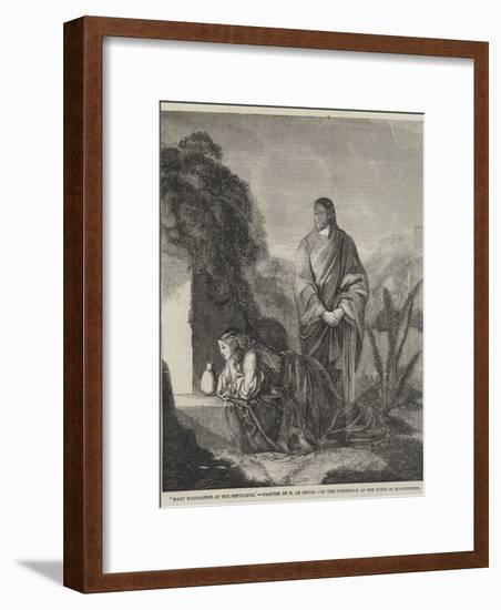 Mary Magdalene at the Sepulchre-Henry Le Jeune-Framed Giclee Print