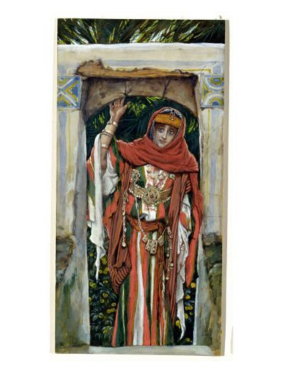 Mary Magdalene before Her Conversion, Illustration for 'The Life of Christ', C.1886-96-James Tissot-Giclee Print