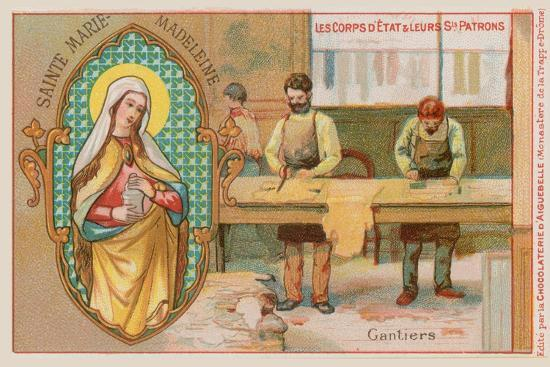 Mary Magdalene, Patron Saint of Glove Makers--Giclee Print