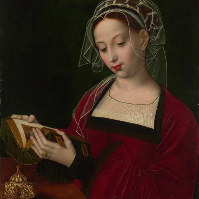 Mary Magdalene Reading, C. 1525-Ambrosius Benson-Giclee Print