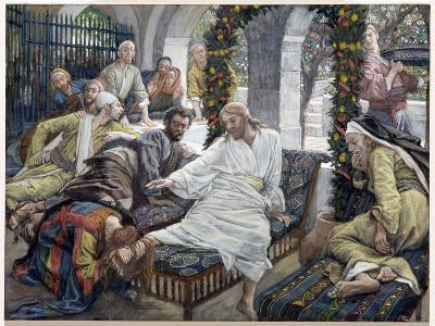 Mary Magdalene's Box of Very Precious Ointment, Illustration for 'The Life of Christ', C.1886-96-James Tissot-Giclee Print