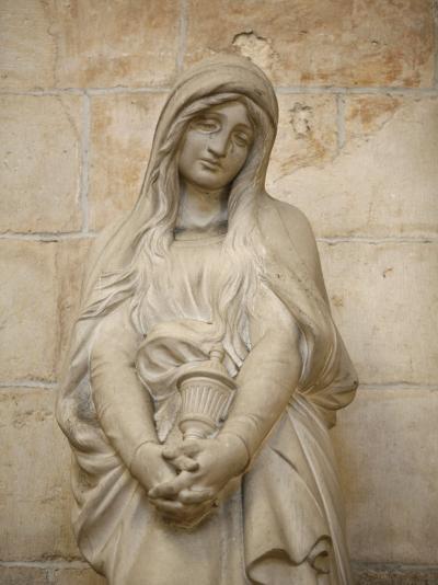 Mary Magdalene Statue in Vezelay Basilica, Vezelay, Yonne, Burgundy-Godong-Photographic Print