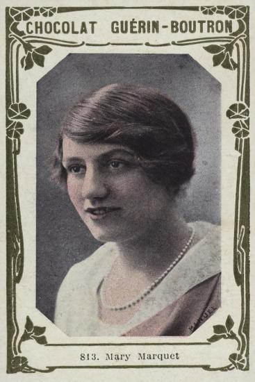 Mary Marquet--Giclee Print