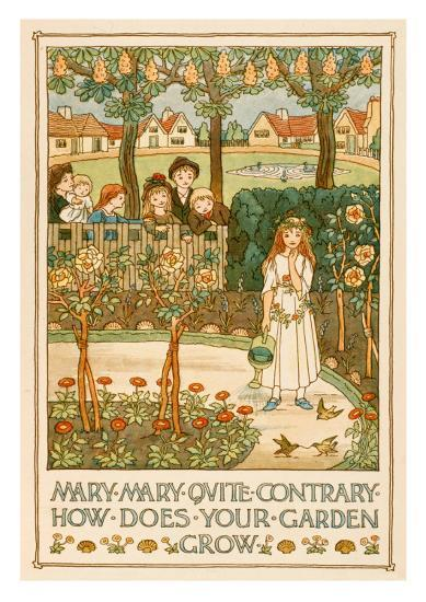 Mary, Mary, Quite Contrary--Art Print