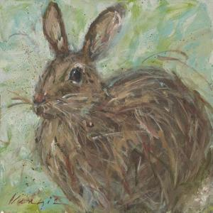 Abstract Rabbit 2 by Mary Miller Veazie
