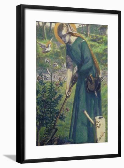 Mary Nazarene-Dante Gabriel Rossetti-Framed Giclee Print