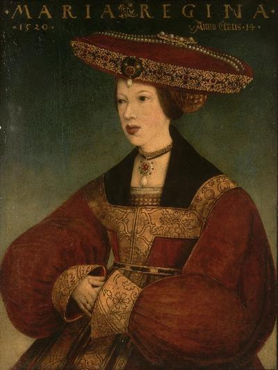 Mary of Austria, C.1520-Hans Maler-Giclee Print