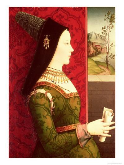 Mary of Burgundy (1457-82) Daughter of Charles the Bold, Duke of Burgundy (1433-77)-Ernst Maler-Giclee Print
