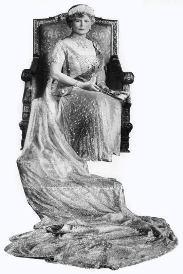 Mary of Teck, Queen Consort of George V of the United Kingdom, C1930s--Giclee Print