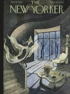 The New Yorker Cover - January 22, 1949 by Mary Petty