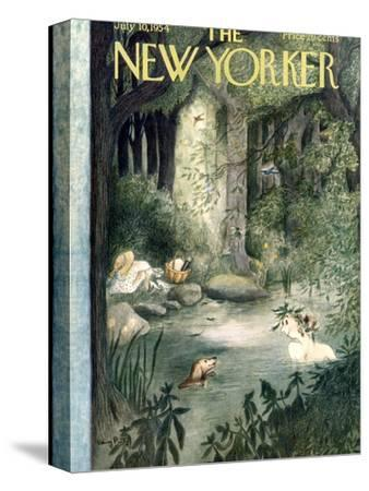 The New Yorker Cover - July 10, 1954