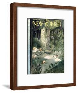 The New Yorker Cover - July 10, 1954 by Mary Petty