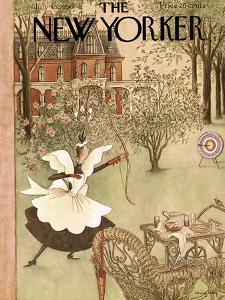 The New Yorker Cover - July 15, 1950 by Mary Petty