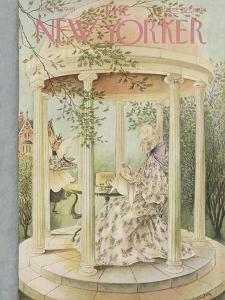 The New Yorker Cover - July 16, 1949 by Mary Petty