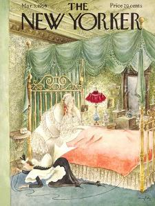 The New Yorker Cover - March 3, 1956 by Mary Petty