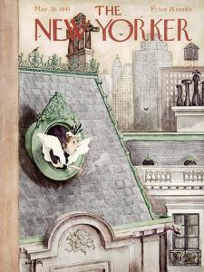 The New Yorker Cover - May 24, 1941 by Mary Petty