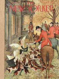The New Yorker Cover - November 11, 1950 by Mary Petty