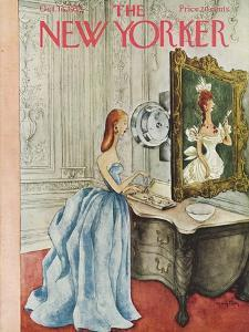 The New Yorker Cover - October 16, 1954 by Mary Petty