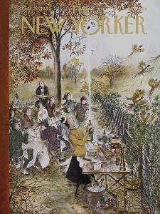 The New Yorker Cover - October 20, 1962 by Mary Petty