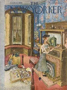 The New Yorker Cover - September 12, 1953 by Mary Petty