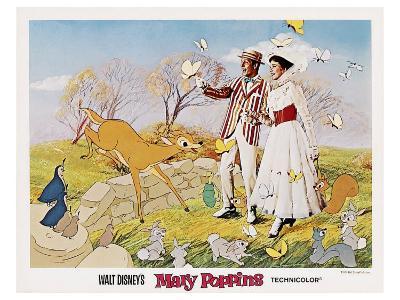 Mary Poppins, 1964--Art Print