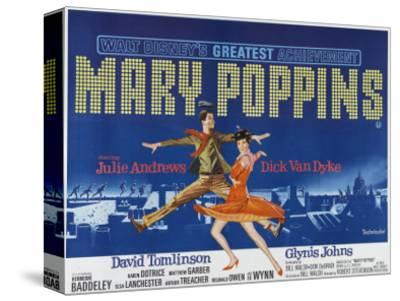 Mary Poppins, UK Movie Poster, 1964