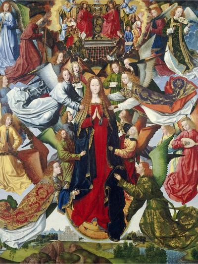 Mary, Queen of Heaven, C. 1485- 1500-Master of the Legend of St. Lucy-Giclee Print