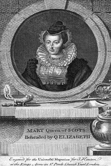 Mary, Queen of Scots, (1542-158)--Giclee Print