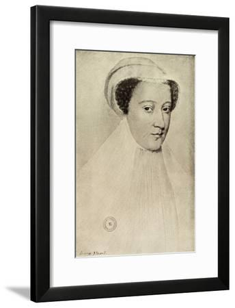 'Mary Queen of Scots', (1909)-Francois Clouet-Framed Giclee Print