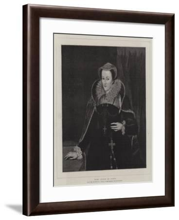 Mary Queen of Scots--Framed Giclee Print