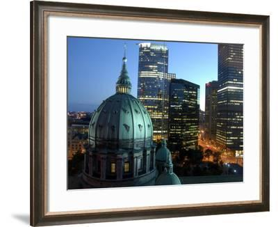 Mary Queen of The World Cathedral, Montreal, Quebec, Canada-Cindy Miller Hopkins-Framed Photographic Print