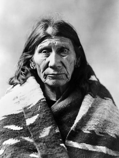 Mary Red Cloud, C1900--Photographic Print