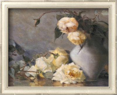 Harmony in Gray and Yellow by Mary Reid