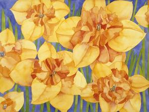 Yellow Daffodils by Mary Russel