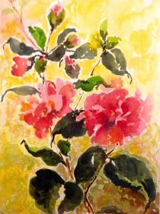 Camelias by Mary Smith