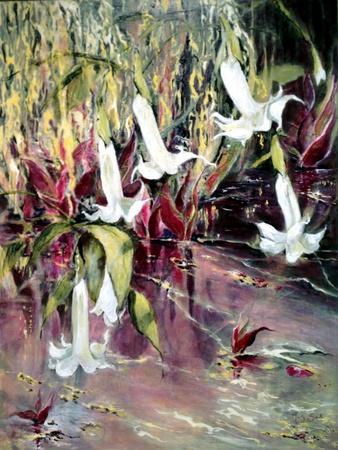 Daturas in Monet'sGarden