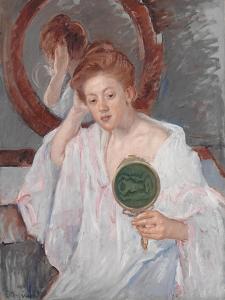 Denise at Her Dressing Table, c.1908-9 by Mary Stevenson Cassatt