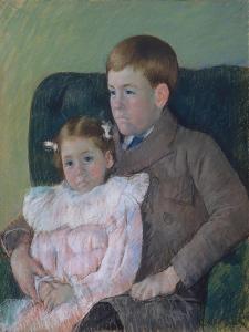 Gardner and Ellen Mary Cassatt, 1899 by Mary Stevenson Cassatt