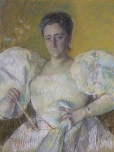 Louisine Havemeter, 1896 by Mary Stevenson Cassatt