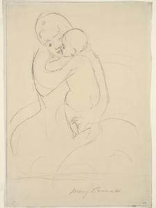 Maternal Caress, 1921  wove paper) by Mary Stevenson Cassatt