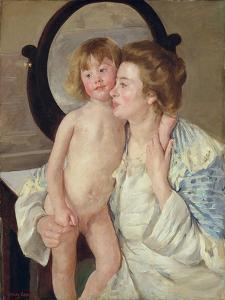 Mother and Boy, c.1899 by Mary Stevenson Cassatt