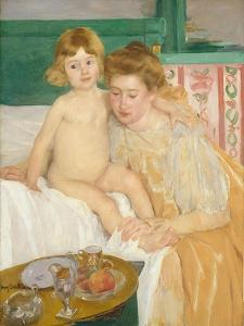 Mother and Child (Baby Getting Up from His Nap), c.1899 by Mary Stevenson Cassatt