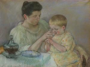 Mother Feeding Child, 1898 by Mary Stevenson Cassatt