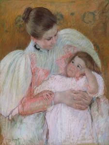 Nurse and Child, 1896-7 by Mary Stevenson Cassatt