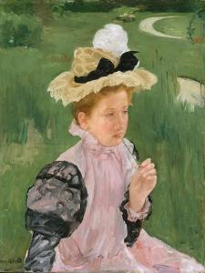 Portrait of a Young Girl, c.1899 by Mary Stevenson Cassatt