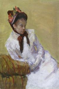Portrait of the Artist, 1878 by Mary Stevenson Cassatt