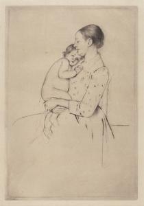 Quietude, c.1891 by Mary Stevenson Cassatt