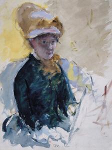 Self Portrait, c.1880 by Mary Stevenson Cassatt