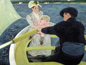 The Boating Party, 1893-1894 by Mary Stevenson Cassatt