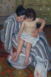 The Child's Bath, 1893 by Mary Stevenson Cassatt